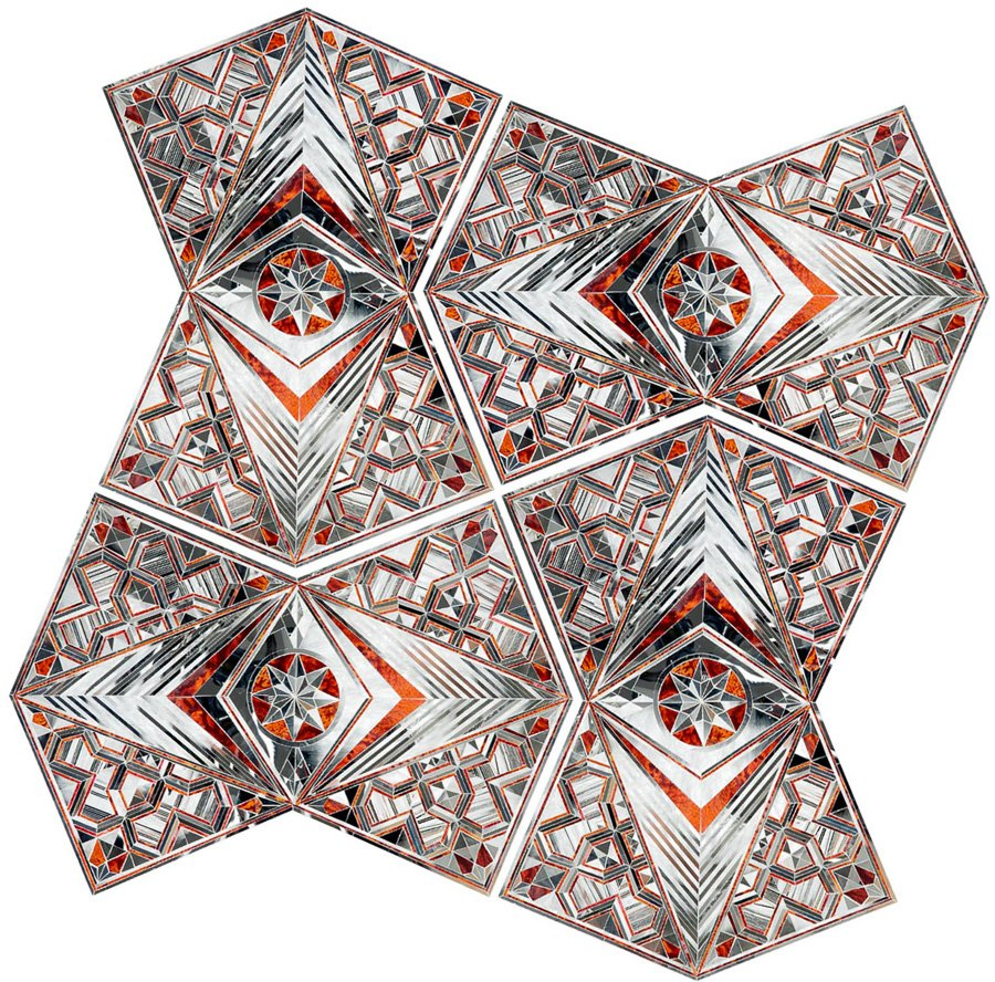 The Work of Monir Farmanfarmaian: Juxtapoz-Farmanfarmaian09.jpg