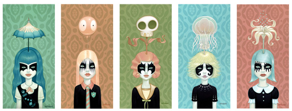 "Tara McPherson ""Somewhere Under The Rainbow"" Print Set Release: tara_rainbow_11_20120111_1239869693.png"