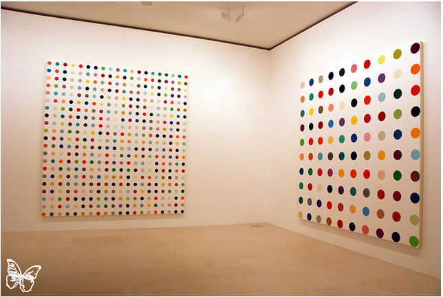 Opening: Damien Hirst Spot Paintings @ Gagosian, Paris: hirst_in_paris_11_20120117_1522274018.png