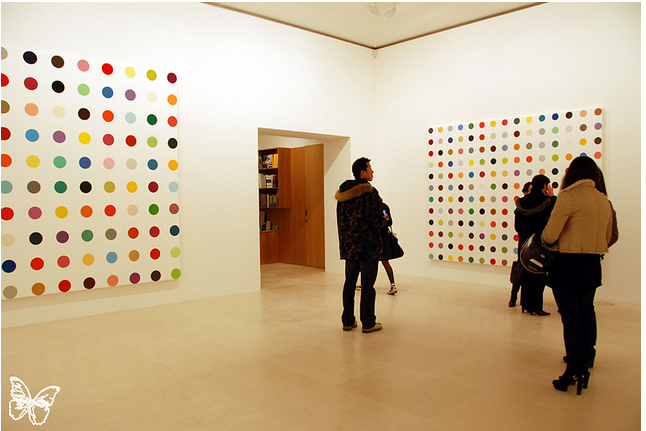 Opening: Damien Hirst Spot Paintings @ Gagosian, Paris: hirst_in_paris_17_20120117_1638596930.png