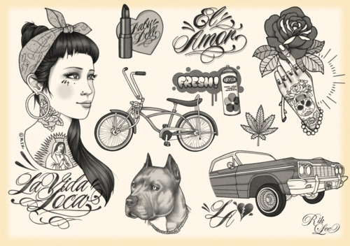 Rik Lee's Tattoo Flash: rik_lee_16_20120125_1248569476.jpg