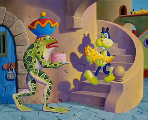 Comic Book Art by Jim Woodring: jim_woodring_10_20120127_1926979798.jpg