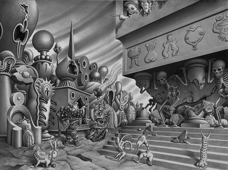 Comic Book Art by Jim Woodring: jim_woodring_11_20120127_1542299781.jpg