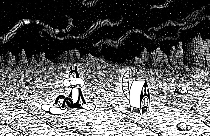 Comic Book Art by Jim Woodring: jim_woodring_13_20120127_1919453888.jpg
