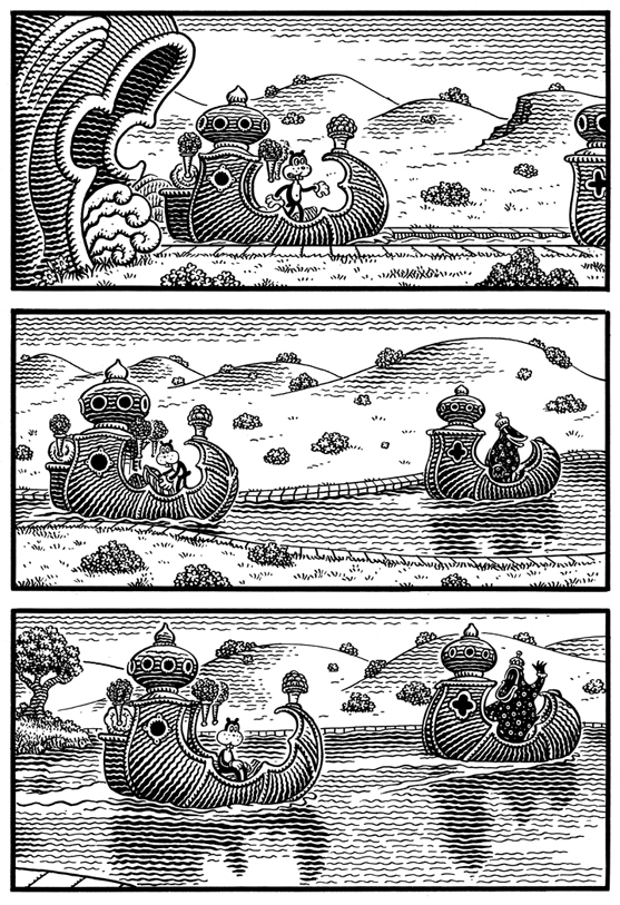 Comic Book Art by Jim Woodring: jim_woodring_15_20120127_1694940215.jpg