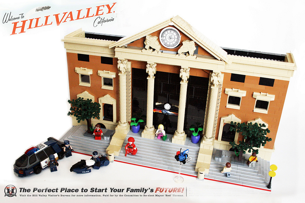 Back to the Future, Hill Valley, 2015 AD, in LEGOS: hill_valley_in_legos_12_20120202_1893264356.jpg