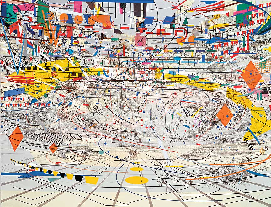 Paintings by Julie Mehretu: Juxtapoz-JulieMehretu02.jpg