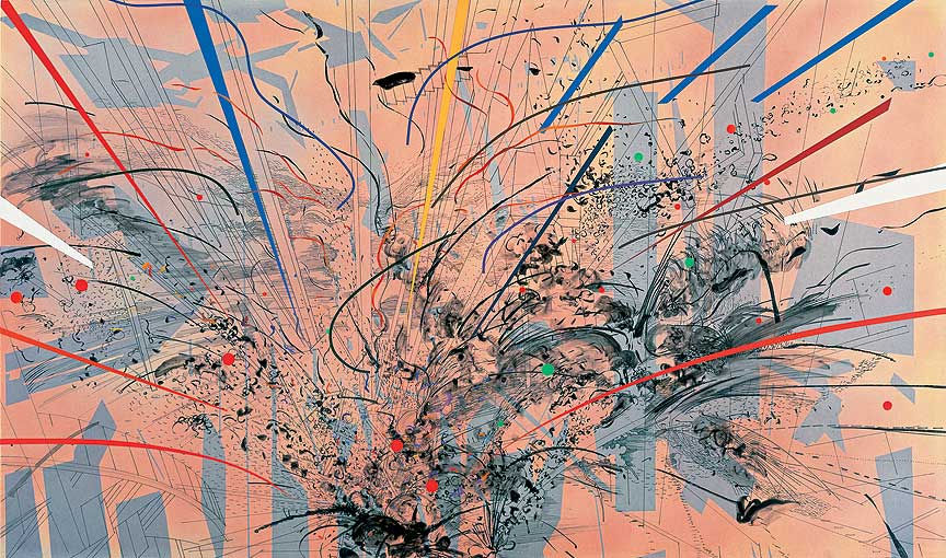 Paintings by Julie Mehretu: Juxtapoz-JulieMehretu03.jpg