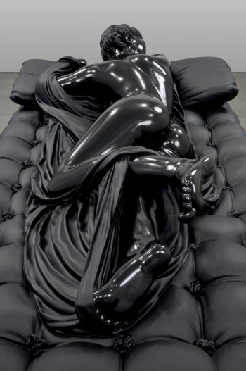Sleeping Hermaphrodite, Black Marble Sculpture by Barry X Ball: barry_x_ball_12_20120207_1782725727.jpg