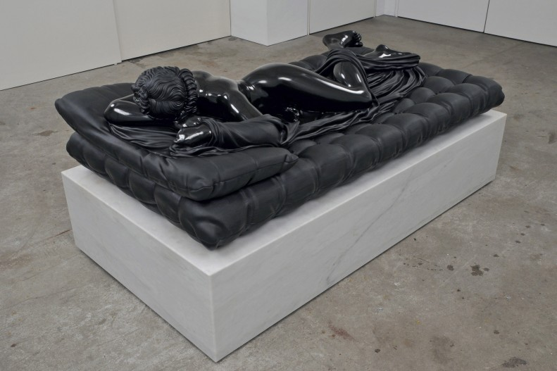 Sleeping Hermaphrodite, Black Marble Sculpture by Barry X Ball: barry_x_ball_4_20120207_1155271948.jpg