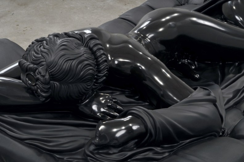 Sleeping Hermaphrodite, Black Marble Sculpture by Barry X Ball: barry_x_ball_7_20120207_1398075023.jpg