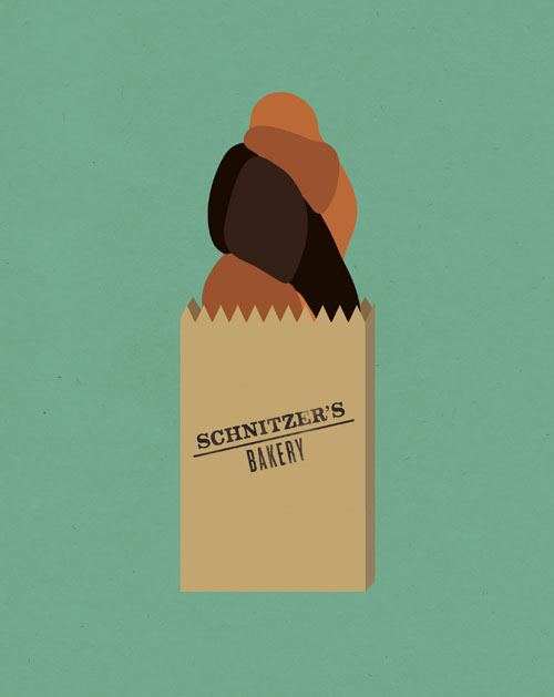 Seinfood: Illustrations Inspired by Seinfeld Food by Rinee Shah: seinfood_4_20120215_1433203753.jpg