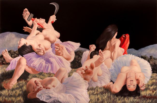 Paintings by Nguyen Xuan Huy: 7276_9_Nguyen-Ballet-School.jpg