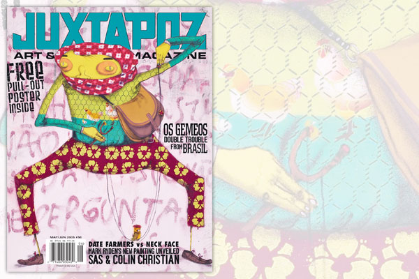 The Top 25 Juxtapoz Covers of All-Time (According to Us) : 08.jpg
