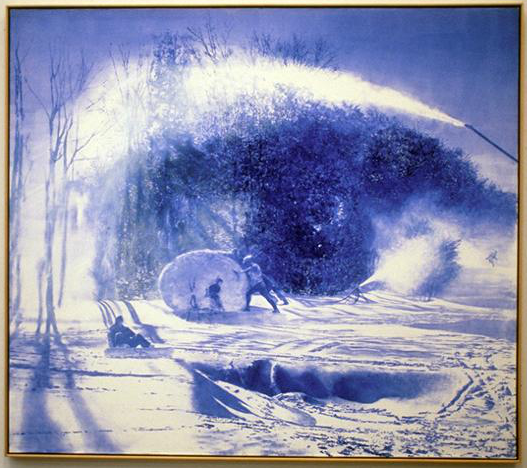 Works by Mark Tansey: mark_tansey_4_20120221_1679363678.png