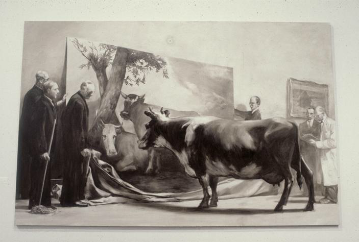 Works by Mark Tansey: mark_tansey_7_20120221_1672485322.png