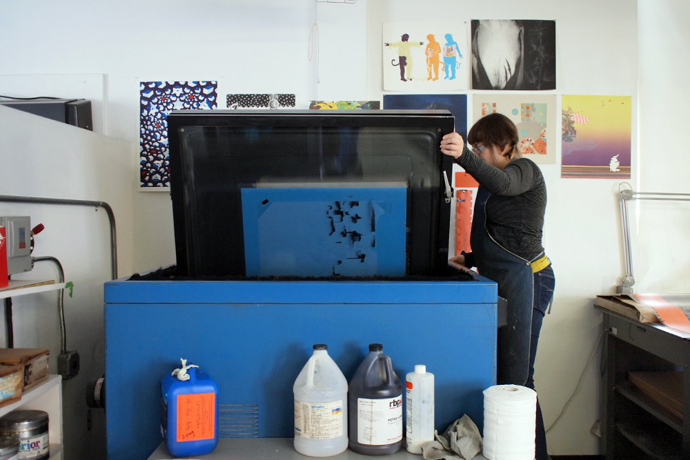 New 8-color offset lithograph by Alex Lukas (And Process Documentation): alex_lukas_process_30_20120229_1773619149.jpg