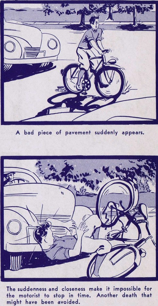 """A Ride of Death"" Bicycle Safety Manual circa 1940s: a_ride_of_death_16_20120229_1353762708.jpg"