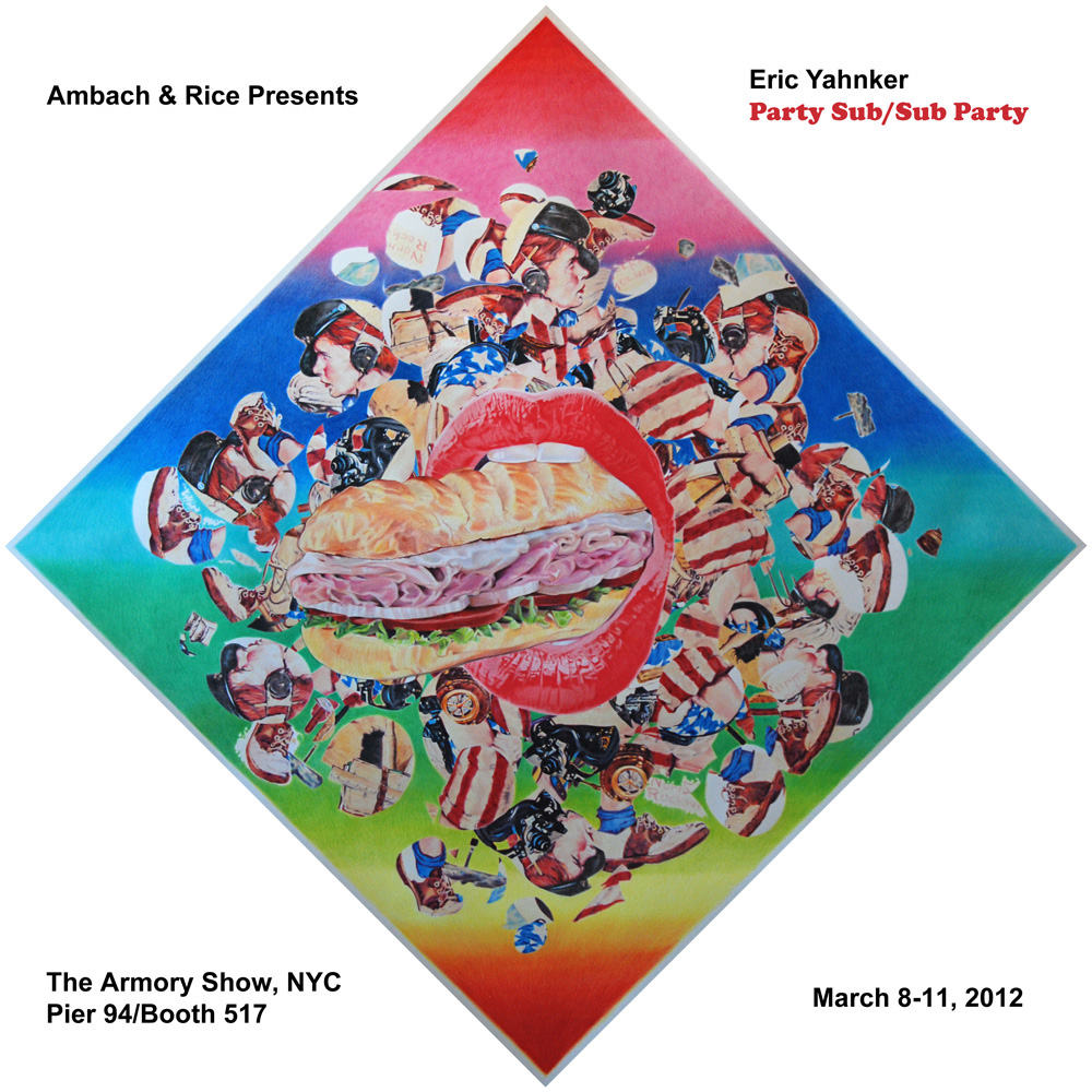 "Eric Yahnker ""Party Sub/Sub Party"" @ The Armory Show, NYC: yahnker_armory_1_20120301_1941442611.jpg"