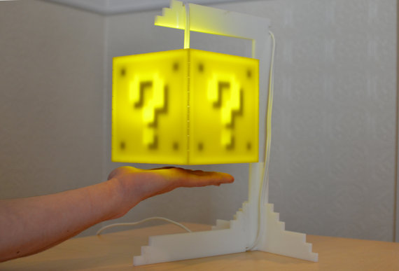 Super Mario Bros Question Box Lamp: mario_lamp_8_20120301_1107586482.jpg
