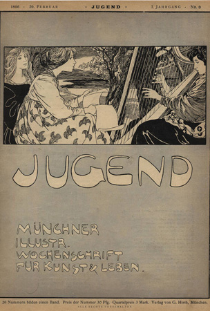 Jugend: Turn of the 20th Century Magazine Covers from Germany: jugend_magazine_29_20120302_1168539682.jpg