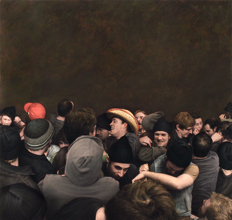 Dan Witz's Mosh Pit Paintings: 70_commercial_sm.jpg
