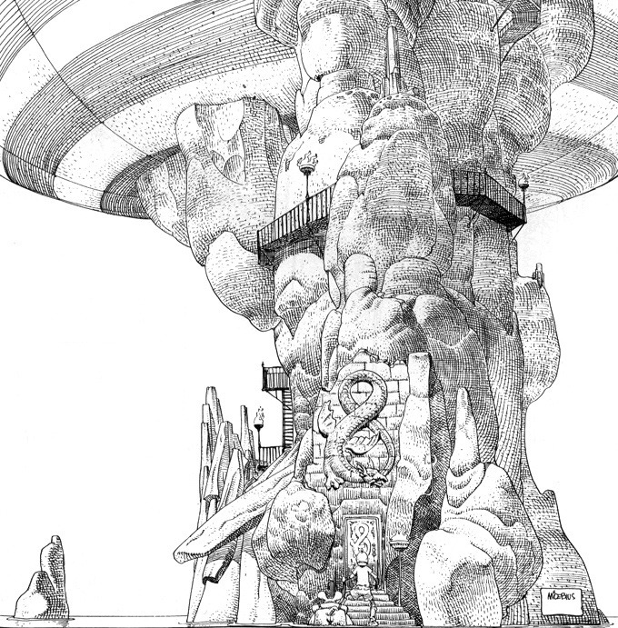 Black and White Drawings by Moebius: moebius_black_and_whites_11_20120312_2062364976.jpg