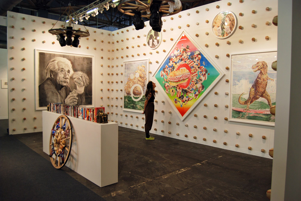 "Photos: Eric Yahnker ""Party Sub/Sub Party"" @ The Armory Show: eric_yahnker_party_sub_5_20120316_1468198774.jpg"