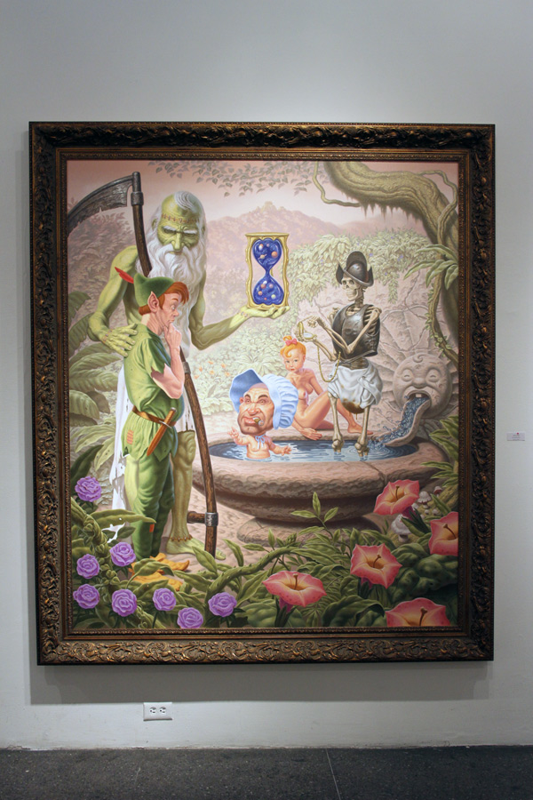 In L.A.: Todd Schorr @ Merry Karnowsky Gallery: schorr_opening_merry_k_gallery_10_20120319_1221657850.jpg