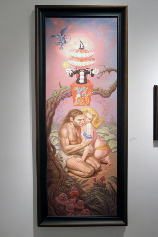 In L.A.: Todd Schorr @ Merry Karnowsky Gallery: schorr_opening_merry_k_gallery_28_20120319_1801207306.jpg