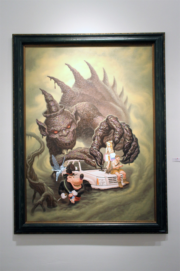 In L.A.: Todd Schorr @ Merry Karnowsky Gallery: schorr_opening_merry_k_gallery_36_20120319_1800415786.jpg