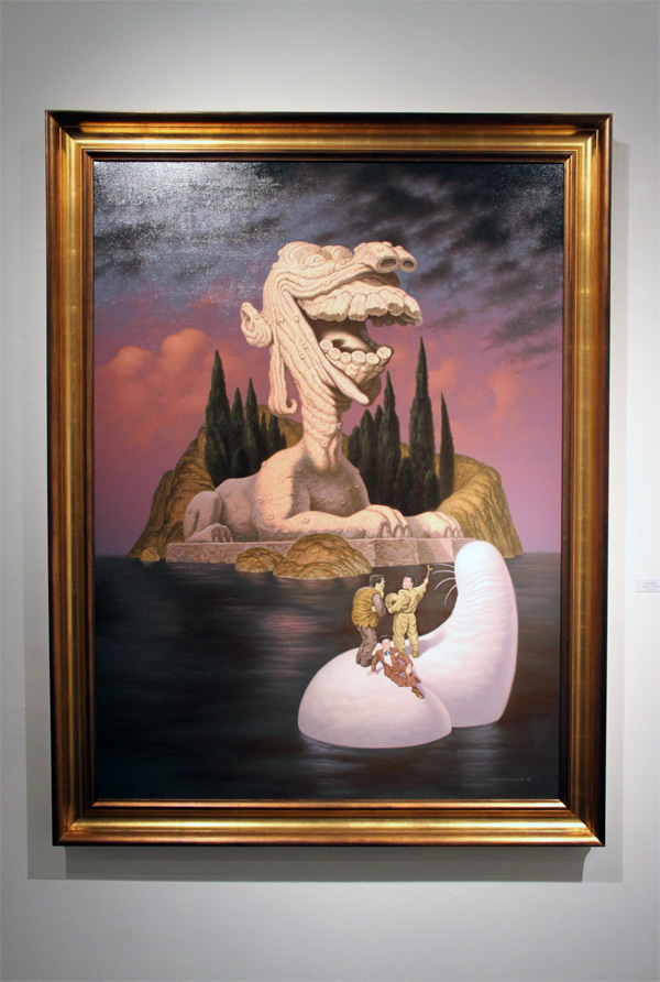In L.A.: Todd Schorr @ Merry Karnowsky Gallery: schorr_opening_merry_k_gallery_60_20120319_1344651913.jpg
