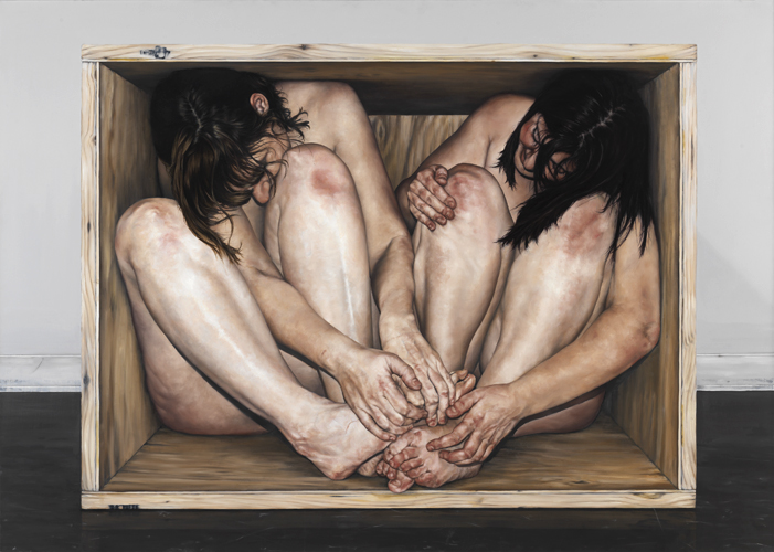 The Work of Chelsey Tyler Wood: 02_Untitled Box Series 1_2010_oil on panel_72in x 52in.jpg
