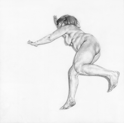 The Work of Chelsey Tyler Wood: 05_Motion Drawing 3_17in x 12in_graphite on paper_2009.jpg