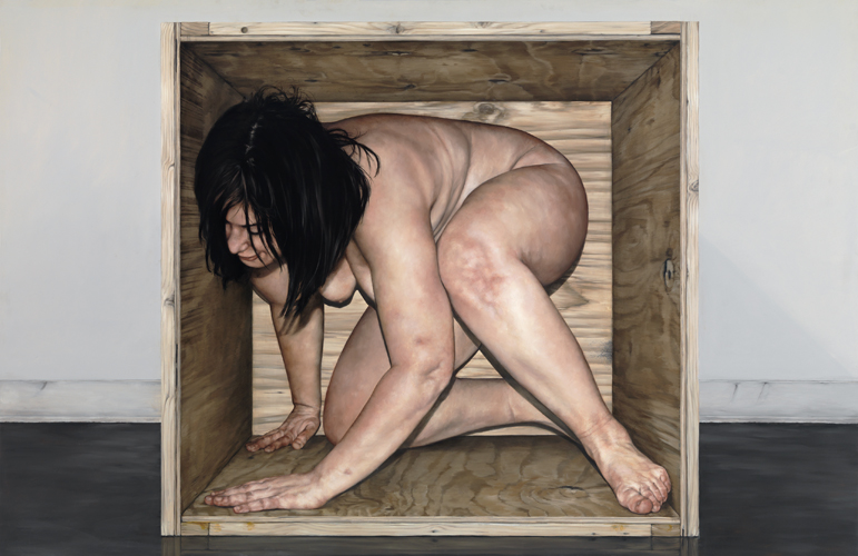 The Work of Chelsey Tyler Wood: 05_Untitled Box Series 4_2010_oil on panel_64in x 44in.jpg