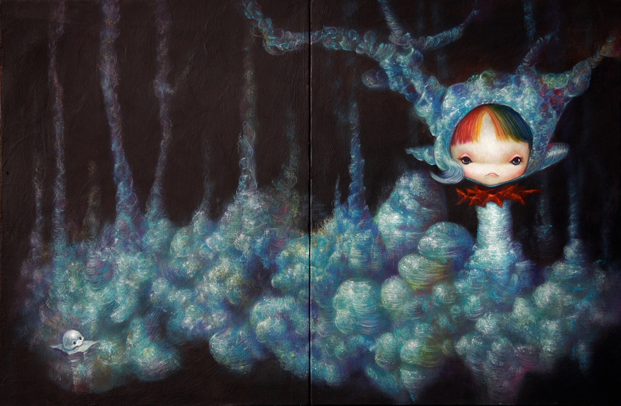 "Preview: Yosuke Ueno ""The Specific Illusion"" @ Thinkspace, Culver City: yosuke_ueno_10_20120322_1759953444.jpg"