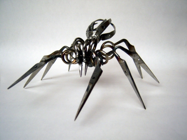 Scissor Spiders by Christopher Locke: christopher_locke_9_20120402_1349907384.jpg
