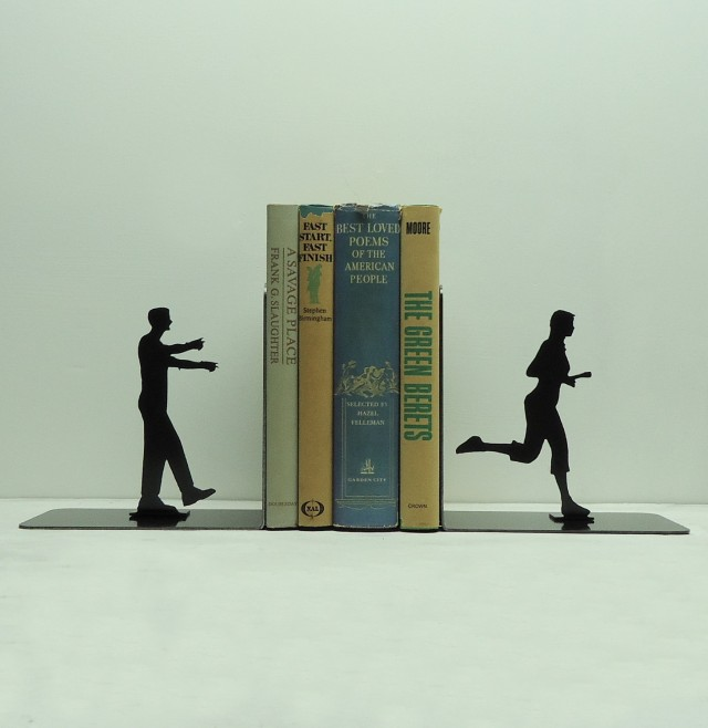 Dramatic Bookends by Knob Creek Metal Arts: bookends_knob_4_20120406_1910876787.jpg