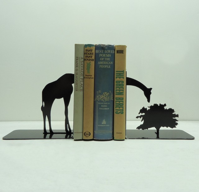 Dramatic Bookends by Knob Creek Metal Arts: bookends_knob_5_20120406_1641438945.jpg