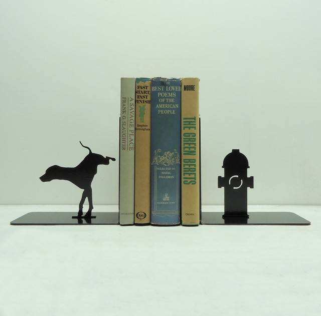 Dramatic Bookends by Knob Creek Metal Arts: bookends_knob_8_20120406_1265745172.jpg