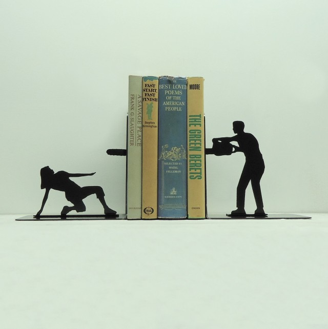 Dramatic Bookends by Knob Creek Metal Arts: bookends_knob_9_20120406_1167986936.jpg