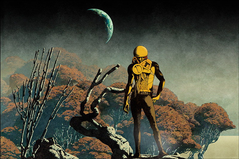 Sci-Fi Surreal Album Covers by Dan McPharlin: Dan-McPharlin_web1.jpg