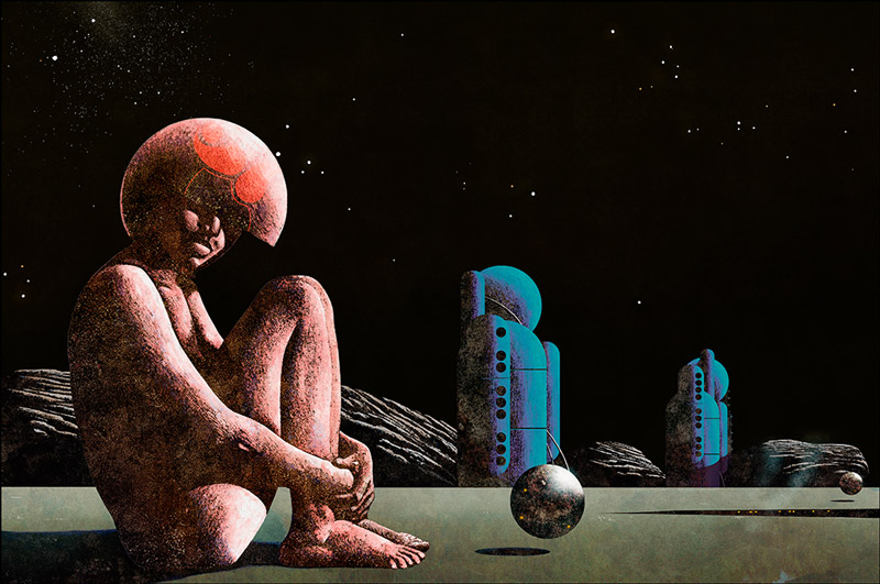 Sci-Fi Surreal Album Covers by Dan McPharlin: Dan-McPharlin_web12.jpg