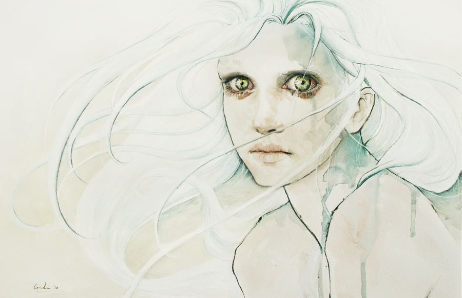 Silvia Pelissero's Watercolor Illustration: agnes-cecile_3_20120430_1426338689.jpeg