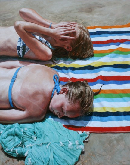 Memories of Summer: Photoreal Paintings by Laura Sanders: laura_sanders_10_20120504_1920146096.jpg