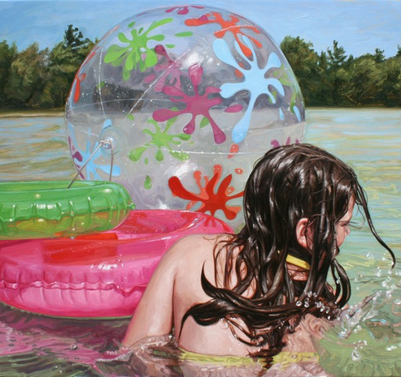 Memories of Summer: Photoreal Paintings by Laura Sanders: laura_sanders_12_20120504_1933517302.jpg