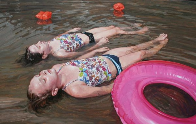 Memories of Summer: Photoreal Paintings by Laura Sanders: laura_sanders_6_20120504_1454612574.jpg