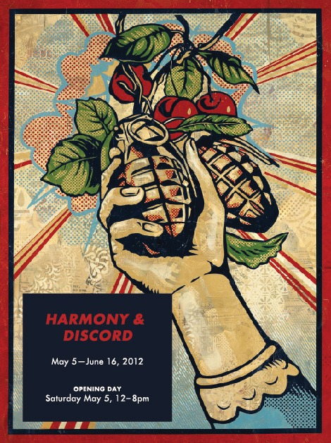 "Shepard Fairey ""Harmony & Discord"" @ Pace Prints, NYC: shepard_fairey_pace_prints_1_20120505_1188312020.jpg"
