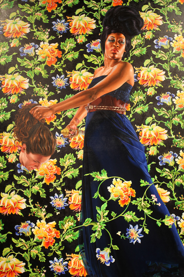 "Opening: Kehinde Wiley ""An Economy of Grace"" @ Sean Kelly Gallery, NYC: kehinde_wiley_sean_kelly_13_20120507_1437605775.jpg"