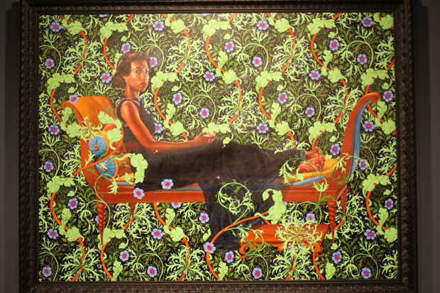 "Opening: Kehinde Wiley ""An Economy of Grace"" @ Sean Kelly Gallery, NYC: kehinde_wiley_sean_kelly_5_20120507_1839732812.jpg"